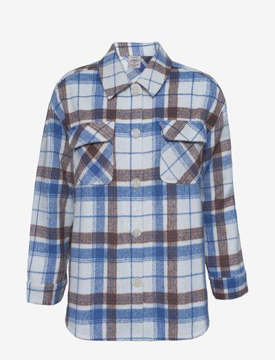 Shirt ls - langermede skjorter - new white check