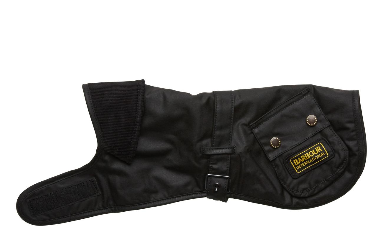 Barbour B.Intl Dog Coat - BLACK