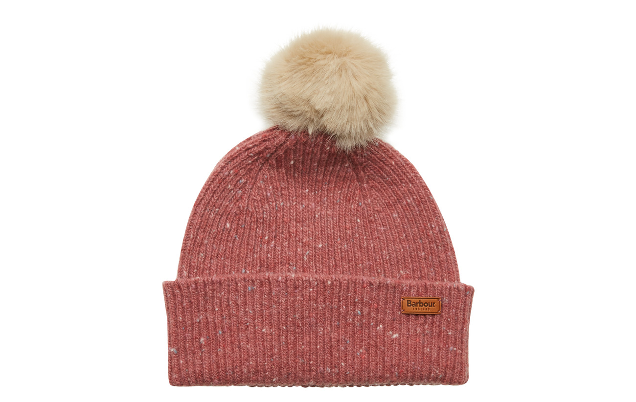 Barbour Barbour Foreland Pom Beanie - PINK