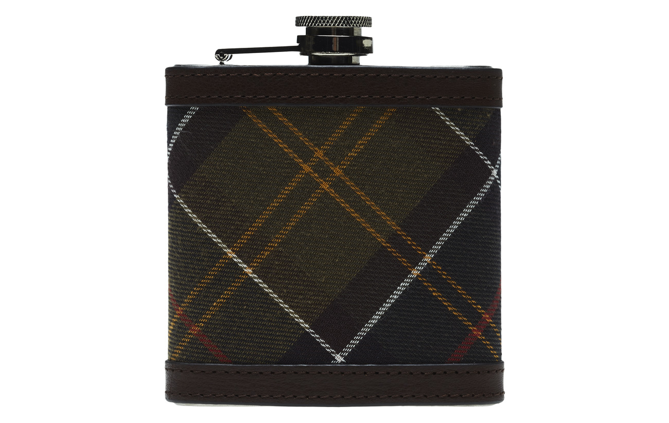 Barbour Barbour Hip Flask - CLASSIC/DK BROW