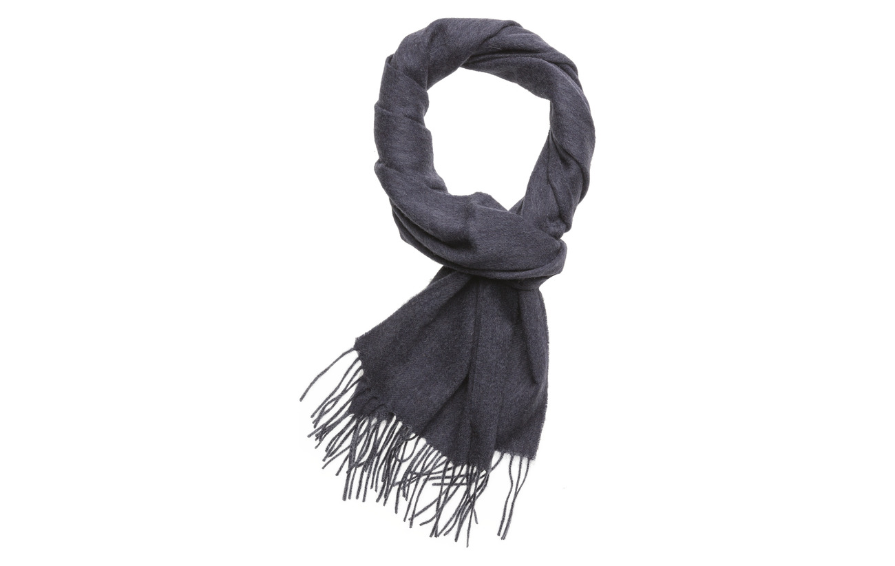 Barbour Plain Lambswool Scarf - SAPPHIRE BLUE M