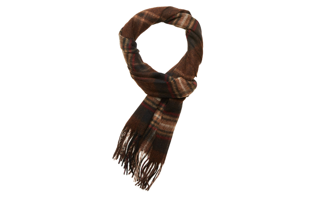Barbour Barbour Rothwell Scarf - RUST/BROWN