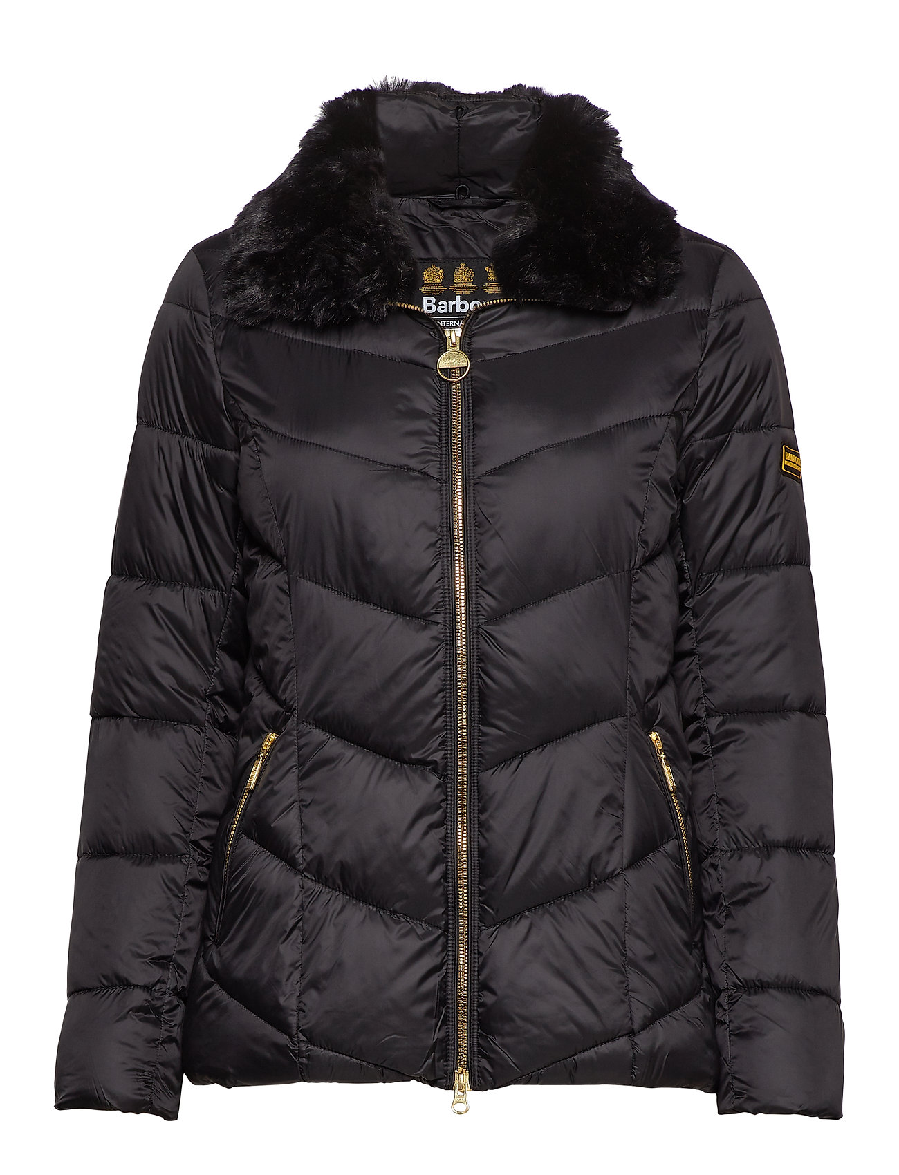 Barbour B.Intl Nurburg Quilt - BLACK/BLACK