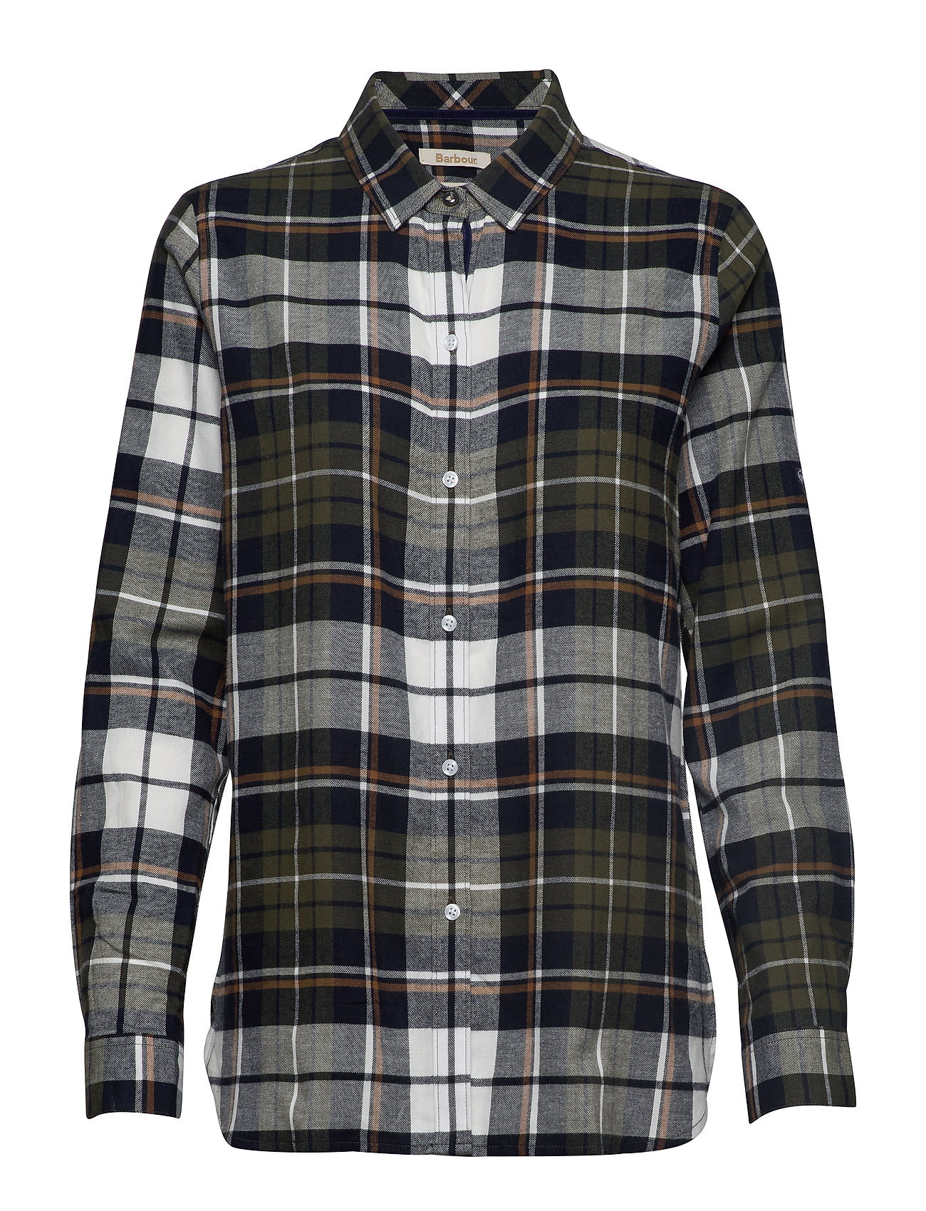 Barbour Barbour Moors Shirt - OLIVE/NAVY