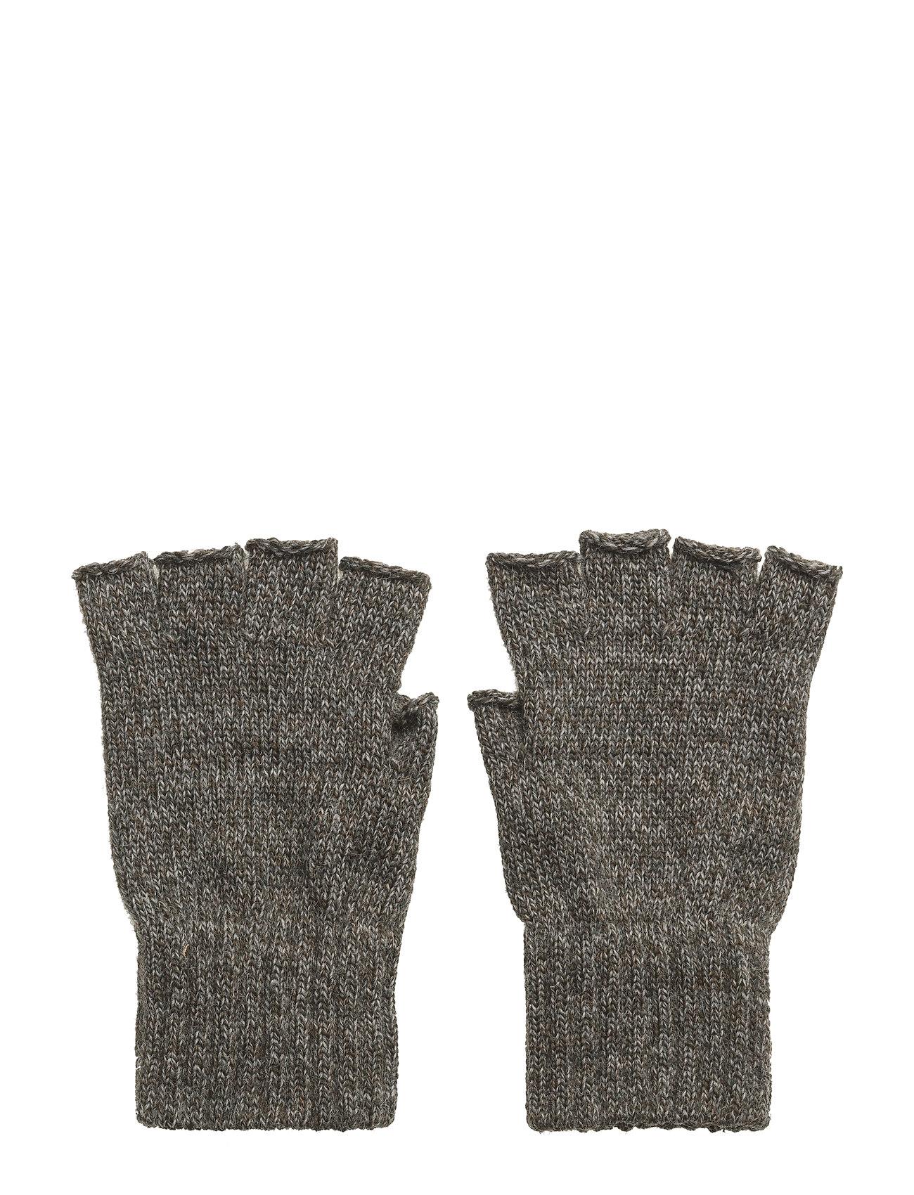 Fingerless Gloves Handsker Grøn Barbour