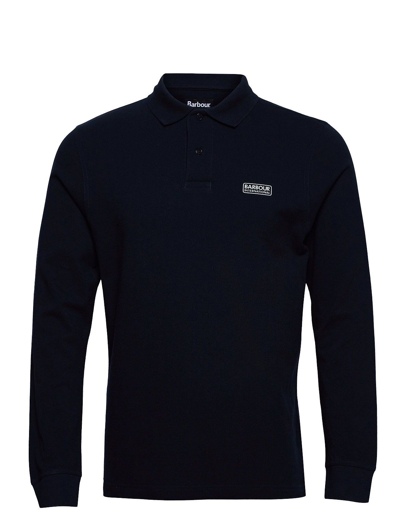 B.Intl Long Sleeve Polo Polos Long-sleeved Blå Barbour