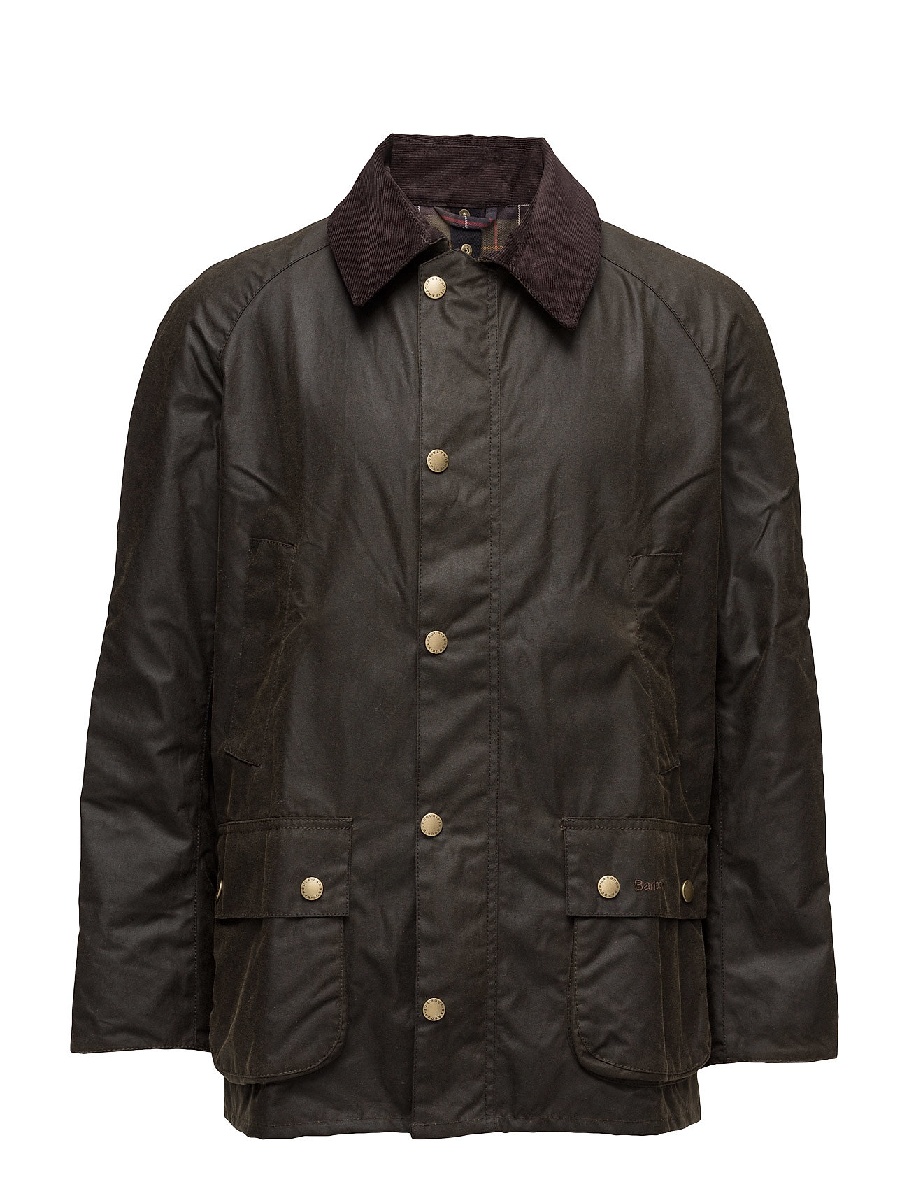 Barbour Barbour Ashby Wax Jacket - DK OLIVE