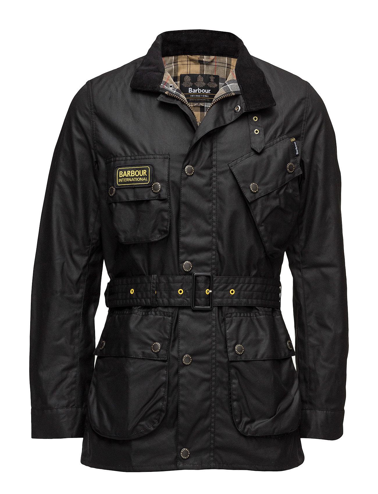 Barbour B.Intl Slim International Wax Jacket - BLACK