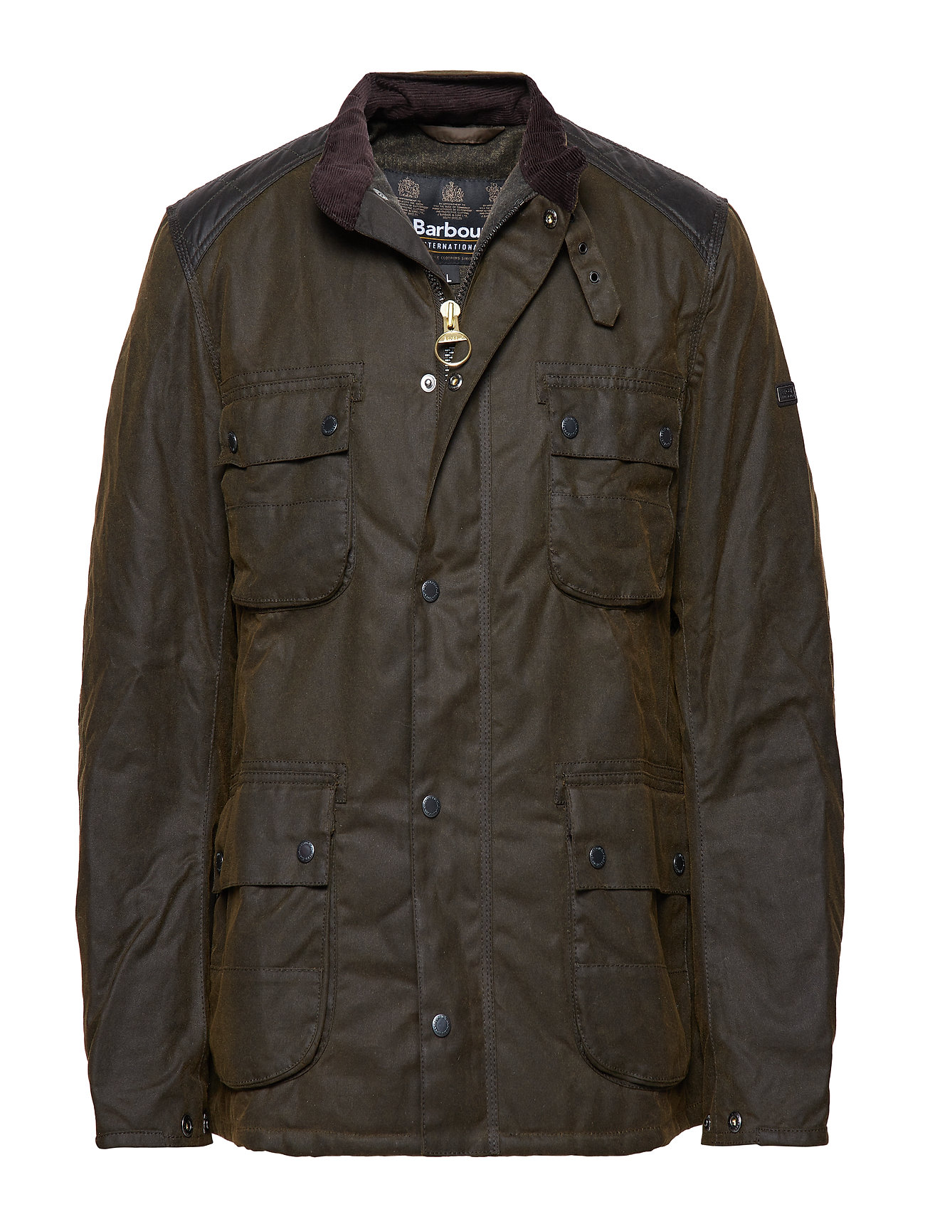 Barbour B.Intl Weir Wax Jacket - OLIVE