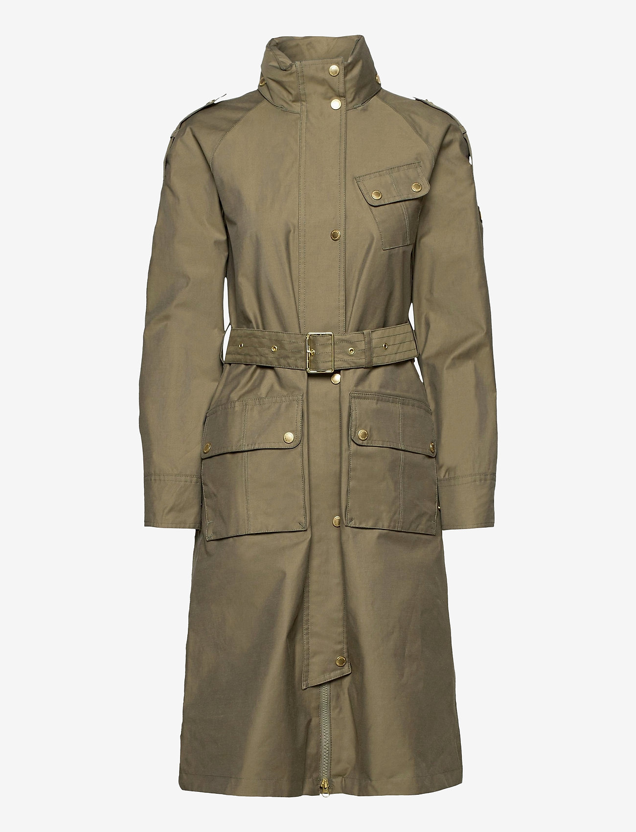 Barbour - B.Intl Qualify Jacket - trenchcoats - lt army green - 0