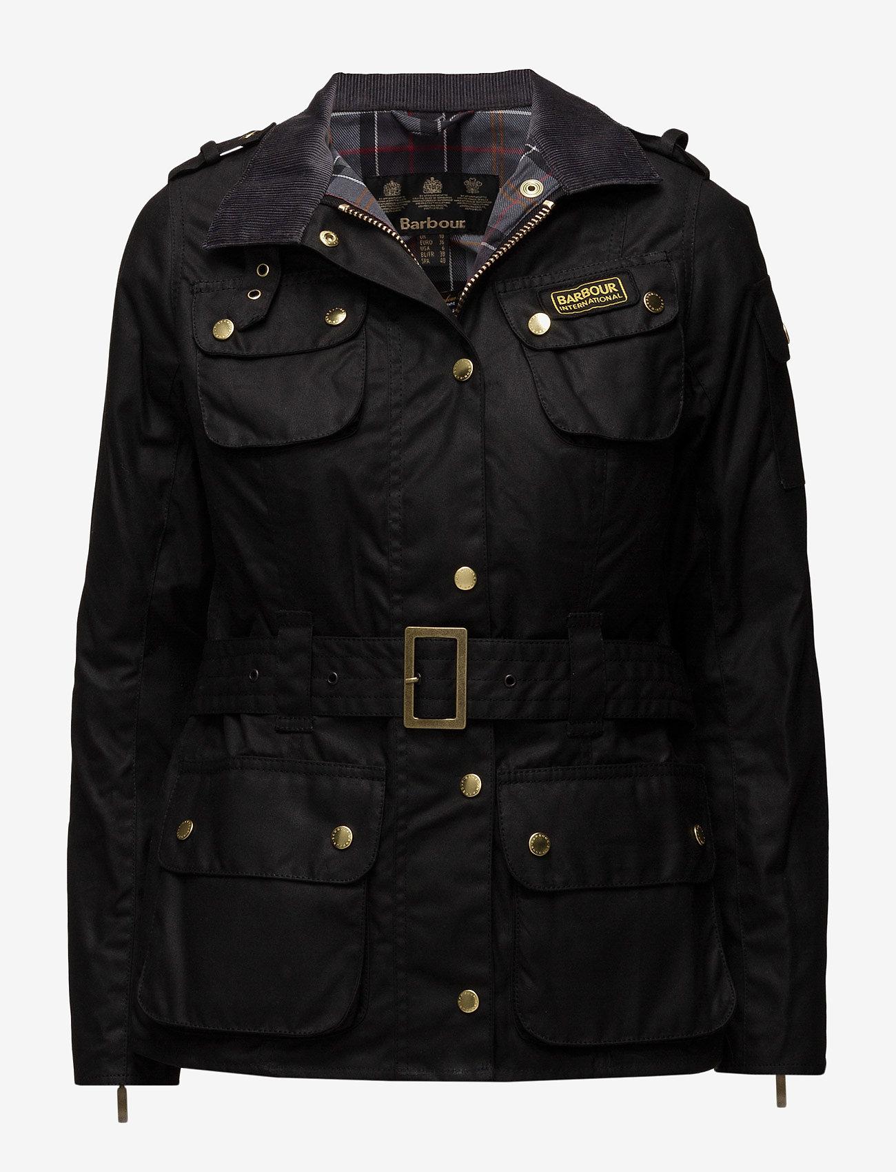 Barbour - Ladies International - lette jakker - black - 0