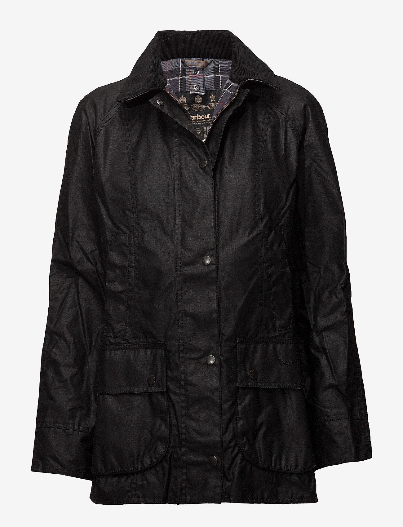 Barbour - Barbour Beadnell Wax Jacket - lette jakker - black - 0
