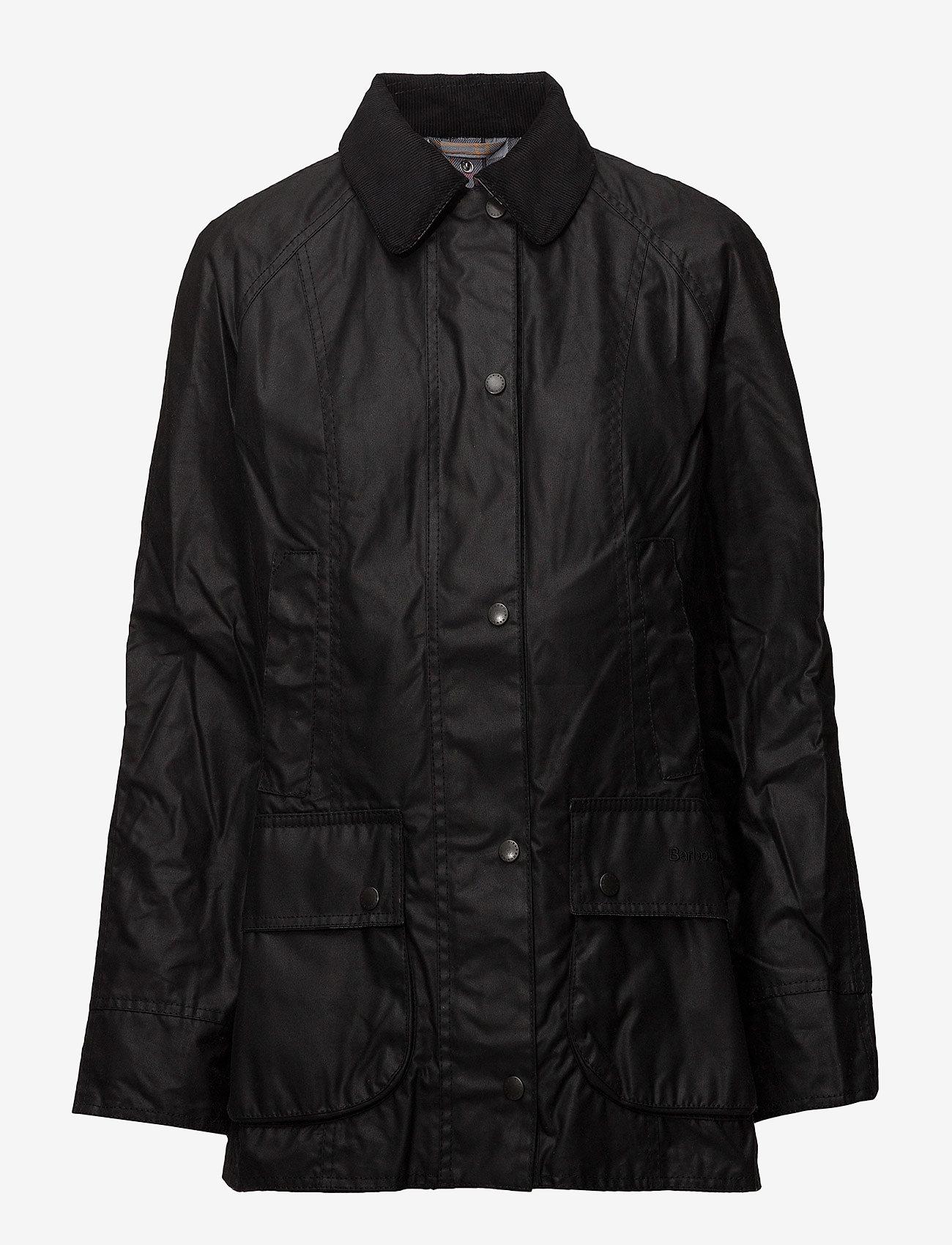Barbour - Barbour Beadnell Wax Jacket - lette jakker - black - 1