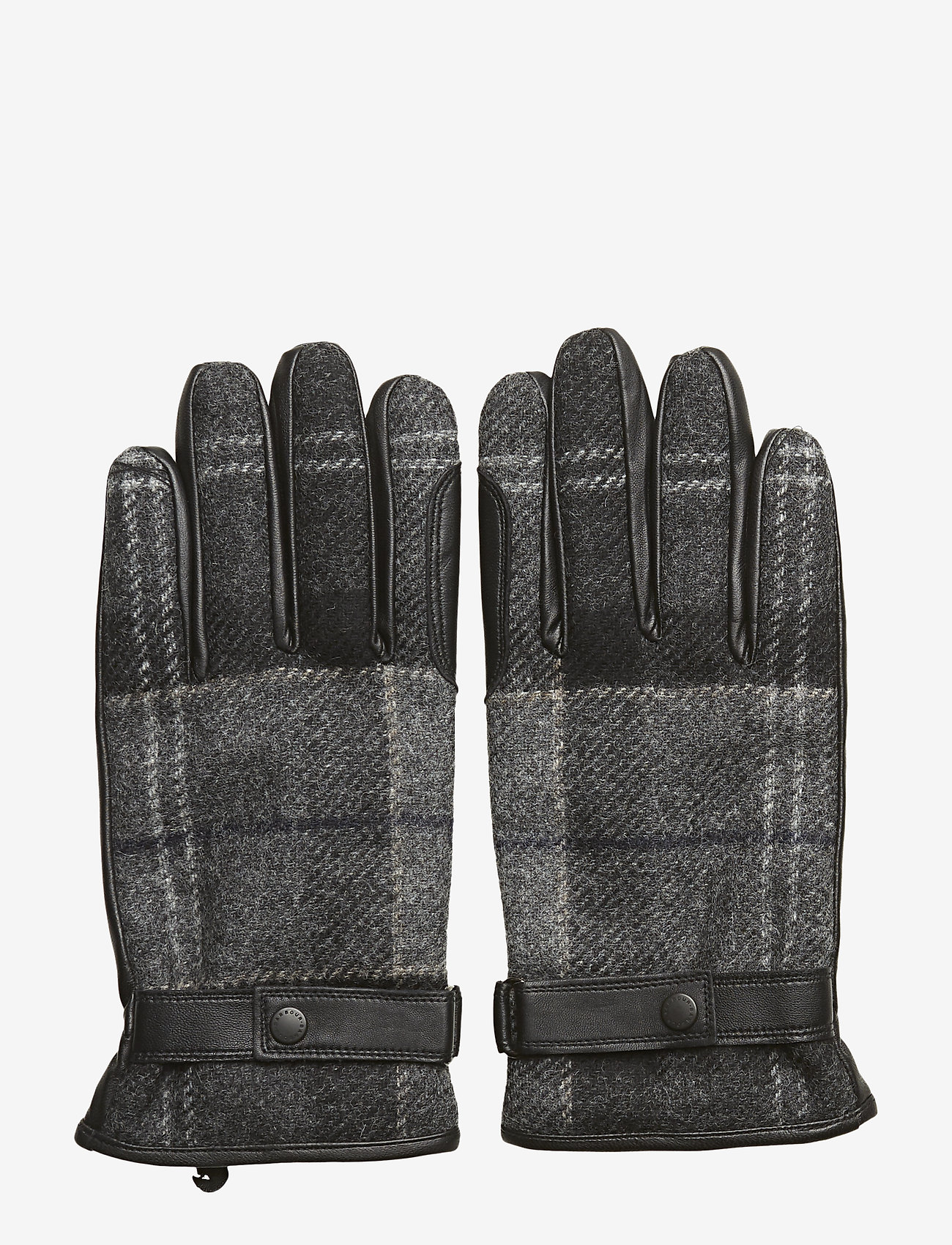 Barbour - Barbour Newbrough Tartan Glove - hanskat - black/grey - 0