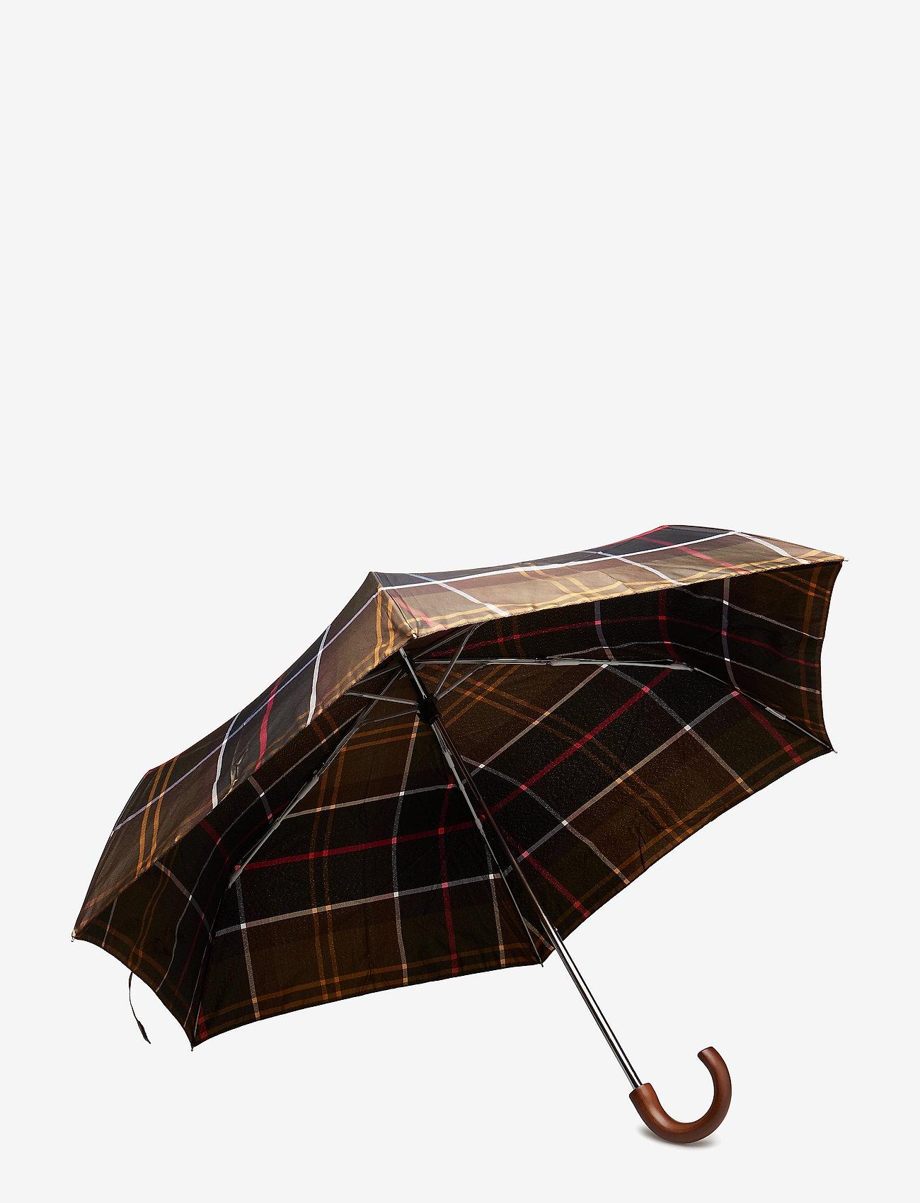 Barbour - Barbour Tartan Mini Umbrella - paraplyer - classic - 1