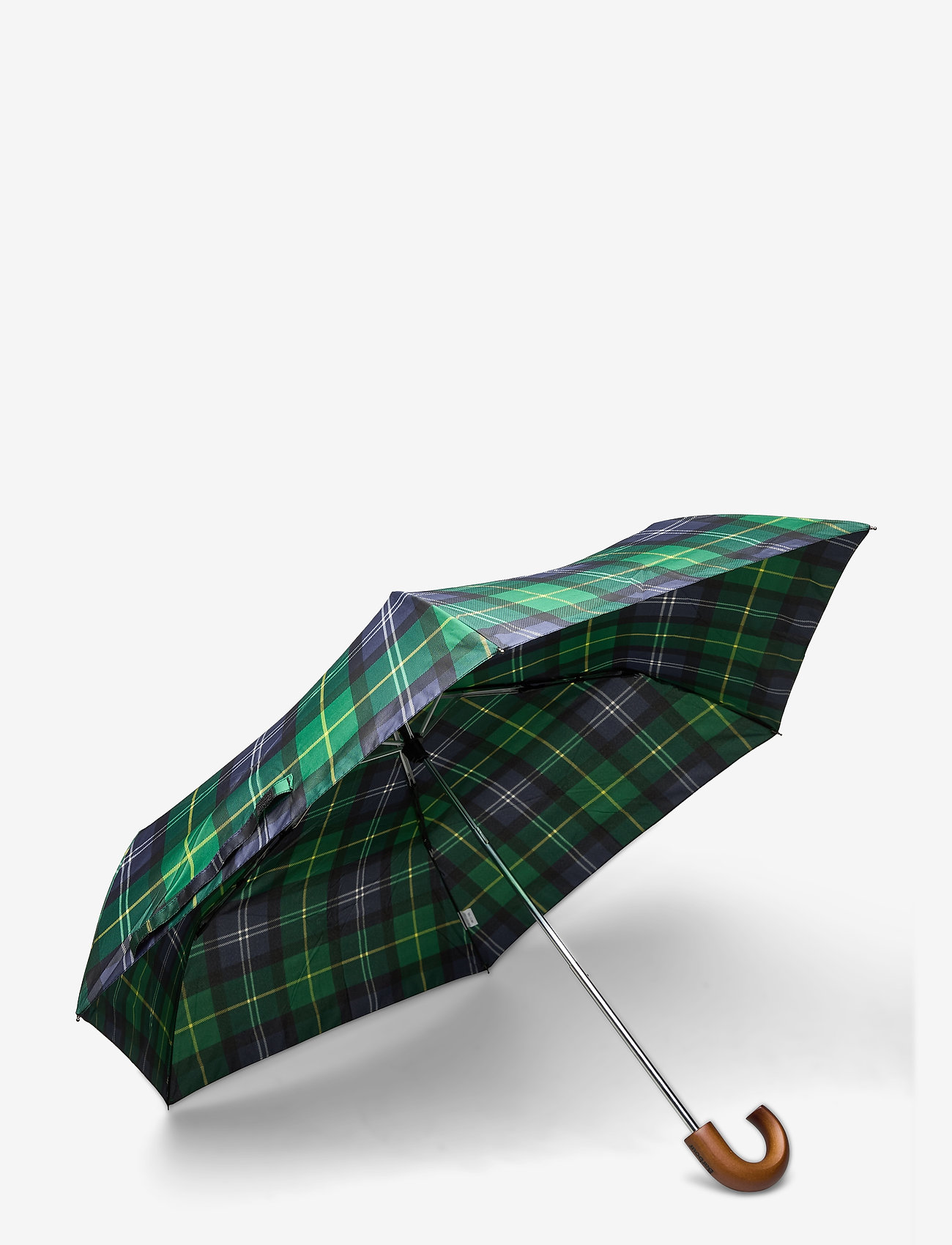 Barbour - Barbour Tartan Mini Umbrella - paraplyer - seaweed tartan - 1