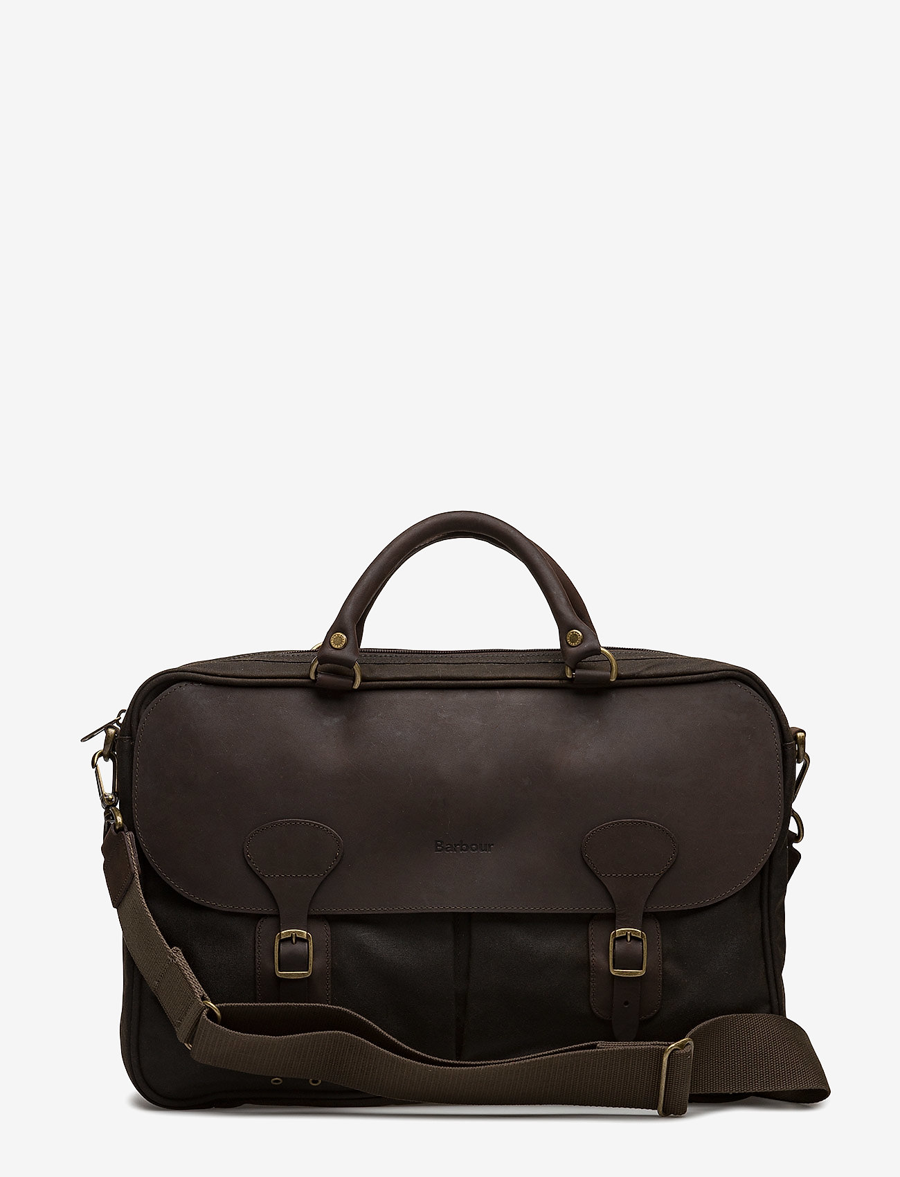 Barbour - Barbour Wax Lth Briefcase - olive