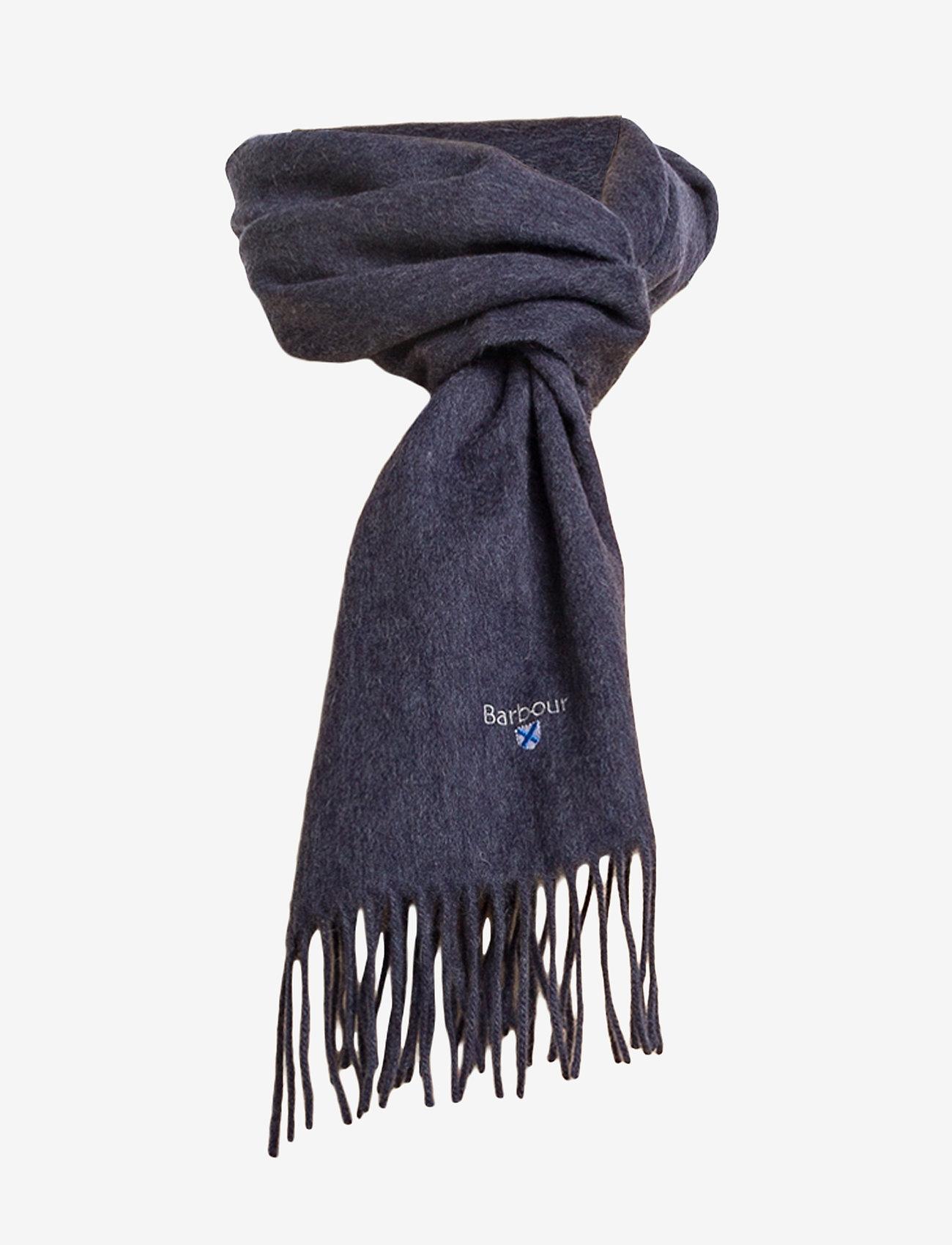 Barbour - Plain Lambswool Scarf - sjalar & halsdukar - sapphire blue m - 1