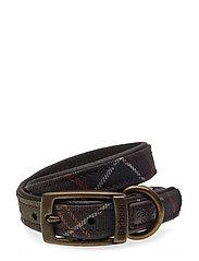 Barbour Tar Dog Collar - CLASSIC TARTAN