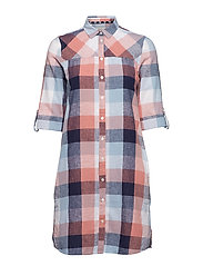 Barbour Seaglow Dress - BLUE/ROSE