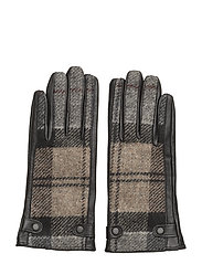 Barbour Galloway Glove - WINTER TARTAN/B