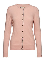 Barbour Pendle Cardigan - BLUSH PINK