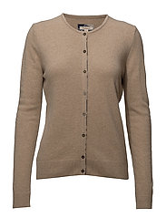 Barbour Pendle Cardigan - CAMEL