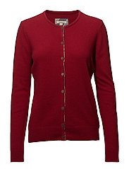 Barbour Pendle Cardigan - CHILLI RED