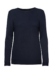 Barbour Shoreline Knit - NAVY