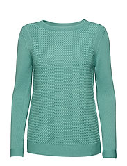 Barbour Shoreline Knit - SEA GREEN