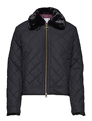 Barbour Tetbury Quilt - BLACK