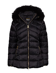 Barbour B.Intl Hampton Quilt - BLACK/BLACK