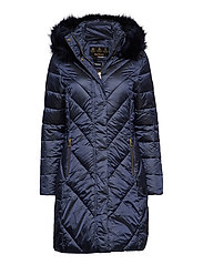 Barbour Reesdale Quilt - ROYAL NAVY