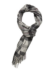 Barbour Tartan Scarf - GREY/JUNIPER TA