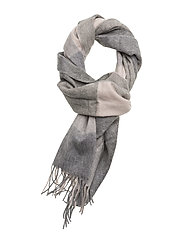 Barbour Wilton Scarf - PINK/GREY