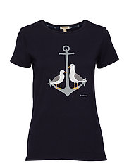 Barbour Whitmore Tee - NAVY