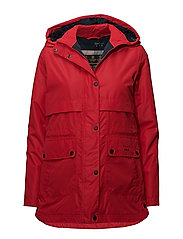 Barbour Altair Jkt - TARTAN RED