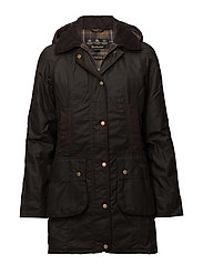 Barbour Bower Wax Jacket - OLIVE