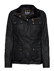 Barbour B.Intl Bankso Wax - BLACK