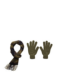Scarf And Glove Gift Box - CLASSIC TARTAN