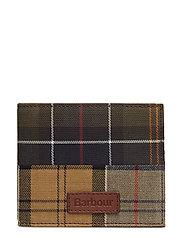 Barbour Mixed Tartan Billfold Wallet