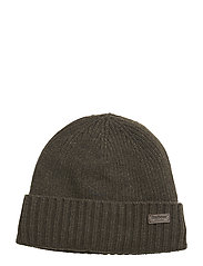 Barbour Carlton Beanie Hatt Grön BARBOUR