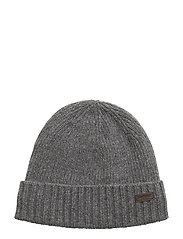 Barbour Carlton Beanie Hatt Grå BARBOUR