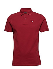 Barbour Sports Polo - BIKING RED