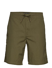 Barbour Bay Ripstop Short - MILITARY GREEN