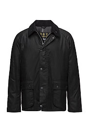 Barbour Strathyre Wax Jkt - BLACK