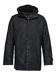 Barbour Gailey Wax - NAVY