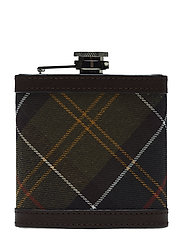 Barbour Hip Flask - CLASSIC/DK BROW