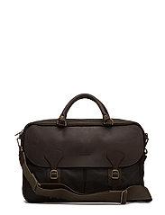 Barbour Wax Lth Briefcase