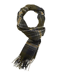 Barbour Rothwell Scarf - OLIVE/NAVY